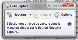 outil capture windows7