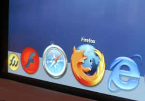 Navigateurs web : firefox, safari, internet explorer