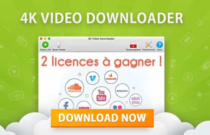 Concours 4k Video Downloader