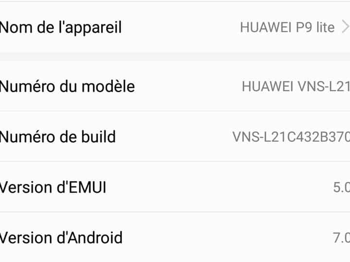 Comment connaître ma version d'Android ?