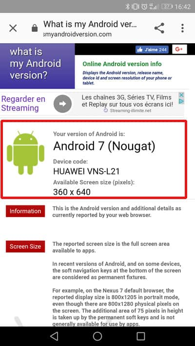 what is my Android version?