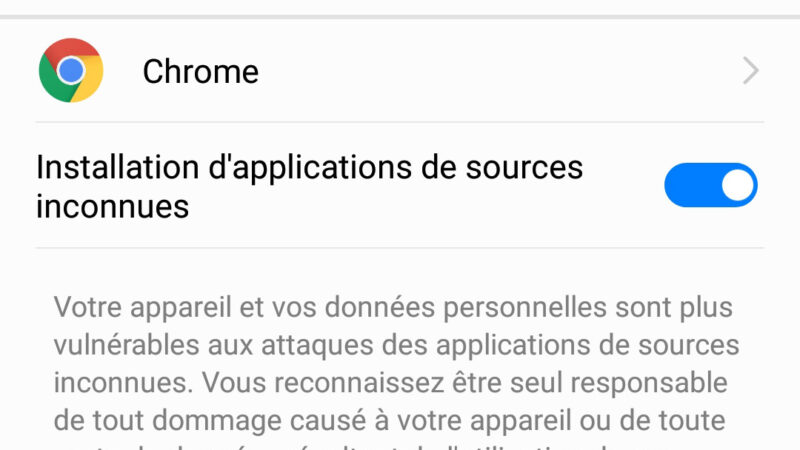Comment autoriser l'installation d'applications Android de sources inconnues ?