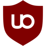 Logo de l'adBlocker UBlock Origin