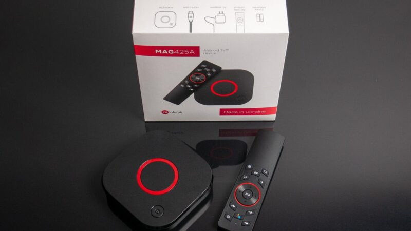 MAG425A, un appareil 4K Android TV performant