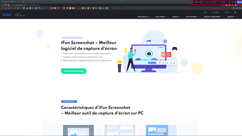 Comment faire des captures d'écran sur Windows 10 avec iFun Screenshot ?