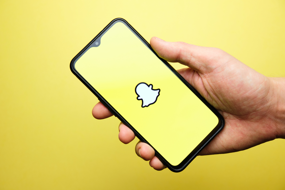 L'application populaire snapchat